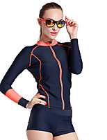 Sport Damen Neoprenanzug / Bademode / Oberteile Taucheranzug UV-resistant / Sanft / Sonnenschutz / Reibungsarm Dive Skins Under 1.5 mm