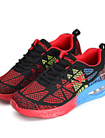 Unisex Sneakers Spring / Fall Comfort Fabric Casual Flat HeelBlue / Pink / Red / Orange Sneaker