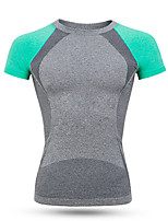 Sports Cycling Jersey Women's Short Sleeve Bike Breathable / Quick Dry / High Breathability (>15,001g) / Comfortable Tops Nylon / Chinlon