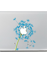 Blue Dandelion Flower Decorative Skin Sticker Decal for MacBook Air/Pro/Pro with Retina