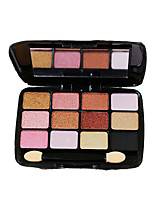 12 Eyeshadow Palette Dry Eyeshadow palette Powder Normal Daily Makeup