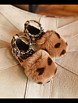 Flats Fall Comfort Light Up Shoes Suede Casual Flat Heel Crystal Others Black Yellow Gray Other