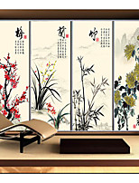 Custom Size Window Style Art Translucent Decorative Tinted Plastic Film Glass
