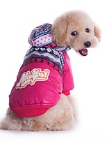 Sherpa Snowflake Comfort Coat for Pets Dogs  (Assorted Sizes and Colors)