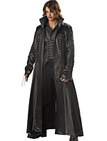Costumes Movie & TV Theme Costumes Halloween / Oktoberfest Black Solid Terylene Coat / Top / Pants / More Accessories