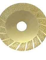 100 * 20 * 0.5mm disques de coupe de marbre d'or