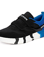 Boy's Athletic Shoes Spring / Fall Comfort PU Casual Flat Heel  Black / Blue / Red / Navy Sneaker
