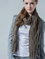 Alyzee Women Wool Blend ScarfFashionable Jewelry-B7017