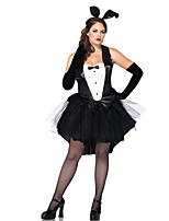 Cosplay Costumes Animal / Fairytale Movie Cosplay Black Solid Dress Halloween / Christmas / New Year Female Polyester