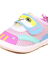 Boy's Sneakers Fall Flats Leather Casual Flat Heel Buckle Pink Others