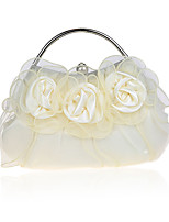 Women Satin Formal /Lace Flower/ Event/Party / Wedding Clutch / Evening Bag