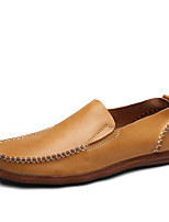 Men's Loafers  Spring / Summer / Fall / Winter Leather Office & Career / Party & Evening / Casual Flat Heel Slip-on