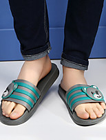 Women's Slippers & Flip-Flops Summer Slingback Rubber Casual Flat Heel Others Black / Blue / Brown / Gray Others