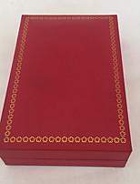 Коробки для бижутерии Бумага 1шт Красный