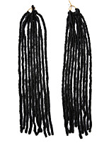 Senegal / Gehäkelt Dread Locks Haarverlängerungen 18Inch Kanekalon 24 Strands(Recommended Buy 5 Packs Full Head) Strand 90g GrammHaar