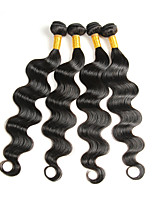 Peruvian Weave Virgin Hair Body Wave Hair Weft 4 Bundles Natural Human Hair Extensions for Black Women 200g