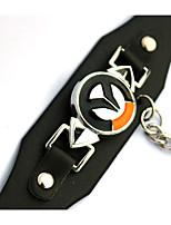 Schmuck Inspiriert von Cosplay Cosplay Anime Cosplay Accessoires Armbänder Schwarz Legierung / PU Leder Mann / Frau