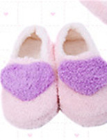 Damen-Slippers & Flip-Flops-Lässig-Vlies-Flacher Absatz-Komfort-Blau / Rosa / Lila