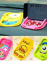 Fashion Cartoon Silica Gel Mobile Phone Support Automobile Multifunctional Vehicle Support Anti Slip Mat