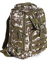 45 L Hiking & Backpacking Pack Camping  / Wearable / Breathable Black / Brown / Camouflage Canvas other