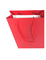 Portable Paper Bag  Specifications 15 * 22 * 6CM Red Vertical Version      10 Packaged for Sale