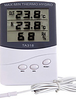 Winys Ta-318 Home Thermometer Hygrometer High-Precision Indoor Electronic Thermometer Alarm Clock
