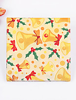 100% virgin pulp 20 pcs Christmas Bell Napkins