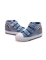 Boy's Flats Fall Canvas Casual Flat Heel Magic Tape Blue Navy Other