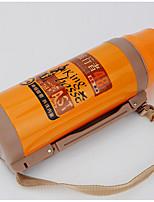 OTHER Nerez / Tvrdý hliník Lahev na vodu oranžový / žlutý Jednoduchý Travol