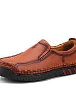 Men's Loafers & Slip-Ons Spring / Fall / Winter Comfort Cowhide Office & Career / Party & Evening