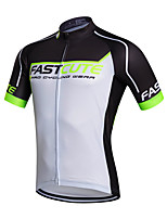 Sports Bike/Cycling Men's Short Sleeve Breathable / Quick Dry / Sweat-wicking Coolmax Classic Cycling/Bike Summer