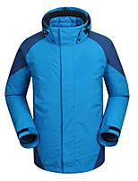 Hiking Softshell Jacket Men'sWaterproof / Breathable / Anti-Eradiation / Wearable / Antistatic / Windproof /