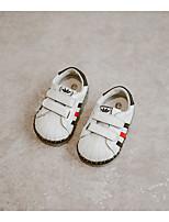 Unisex-Loafers & Slip-Ons-Lässig-Leder-Flacher Absatz-Flache Schuhe-Blau / Gelb / Weiß