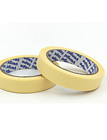 Yellow High Temperature US-profile Paper Tape 2 Packs For Sale  Width 2cm * Length 50m