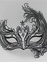 Women's Venetian Phoenix Inspired Laser Cut Masquerade Mask5005A1