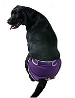 Katzen / Hunde Kostüme / Hosen Blau / Purpur / Schwarz / Rosa Hundekleidung Winter / Sommer / Frühling/Herbst EinfarbigGeburtstag /