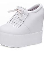 Women's Sneakers Spring / Summer / Fall Platform / Creepers Leather Outdoor / Casual Platform Zipper / Tassel