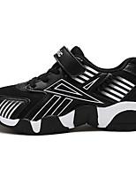 Garçon-Sport / Décontracté-Noir et rouge / Noir et blanc / Bleu royal-Talon Plat-Baby-Sneakers-Tulle