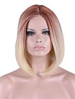 новый парик COS бобо короткий парик 12 дюймов золотисто-коричневого цвета градиента