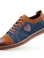Men's Oxfords Spring / Summer / Fall / Winter Comfort Cowhide / Leather Casual Flat Heel Lace-up Brown / Gray Others