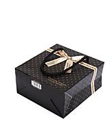 Four 30CMX27CMX12CM Black Spots Gift Bags Per Pack