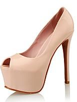Women's Sandals Peep Toe / Platform / Styles Patent Leather Wedding / Party & Evening / Dress Stiletto Heel