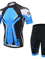 XINTOWN® Cycling Jersey with Shorts Men's Short Sleeve Breathable / Quick Dry / Ultraviolet Resistant / 3D Pad / Sweat-wicking BikeJersey