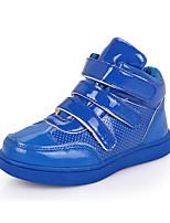 Синий / Желтый-Для девочек-На каждый день-Полиуретан-На плоской подошве-С круглым носком