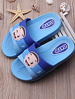 Unisex Slippers & Flip-Flops Summer Slippers PVC Casual Flat Heel Others Blue Pink Navy Fuchsia Others