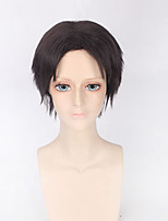 Fashion Straight Wig Brown Color Synthetic Cosplay African American Wigs