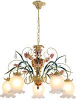 40W Lámparas Araña ,  Cosecha Pintura Característica for Los diseñadores MetalSala de estar / Dormitorio / Comedor / Habitación de