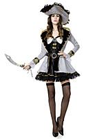 Costumes Déguisements thème film & TV Halloween Blanc / Noir Mosaïque Térylène Robe / Plus d'accessoires