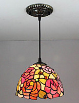 25W Pendant Light   Vintage / Country Painting Feature for Mini Style Metal Living Room / Bedroom / Entry