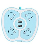 Ponty Cabeada Others Multi - functional smart plug Verde / Azul / Rosa / Amarelo